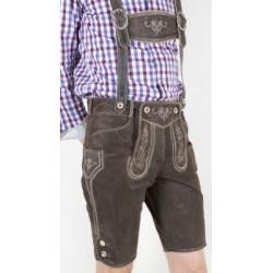 Lederhose Murnau pantalon en cuir marron