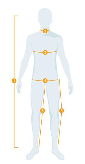 Taille homme lederhosen